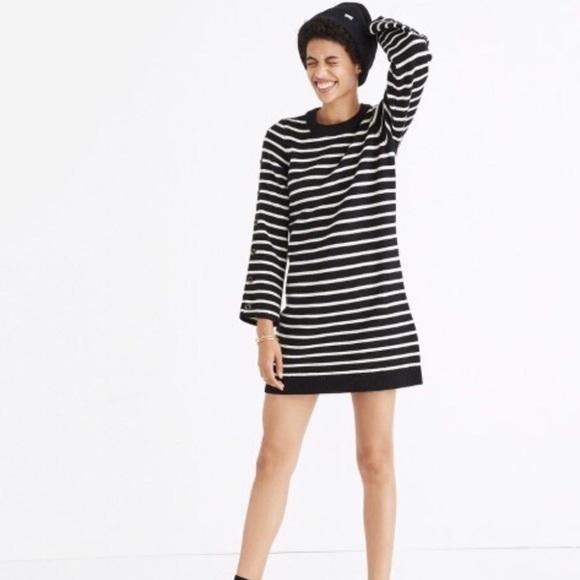 Madewell Dresses & Skirts - 🎀NEW🎀MADEWELL Striped Sweater Dress
